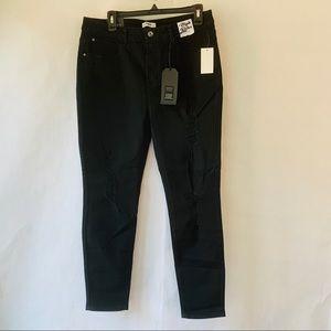 New kensie Jeans High Roller High Rise Black 14/32